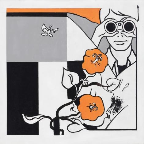 STEVE GIANAKOS, He Had a Great Love of Flowers,2014