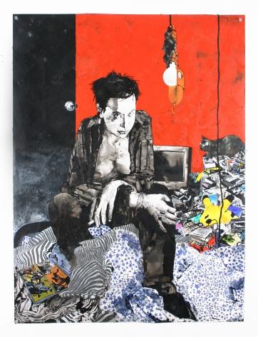 Zak Smith, Girls In The Naked Girl Business: Charlie, 2004