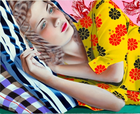 Jocelyn Hobbie Untitled (Yellow), 2014
