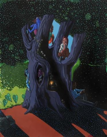 LAMAR PETERSON, Untitled (Tree),2010