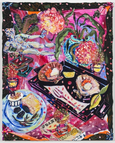 Kate Pincus-Whitney, Feast in the Neon Jungle: Maillo's Saint Jacques, 2020