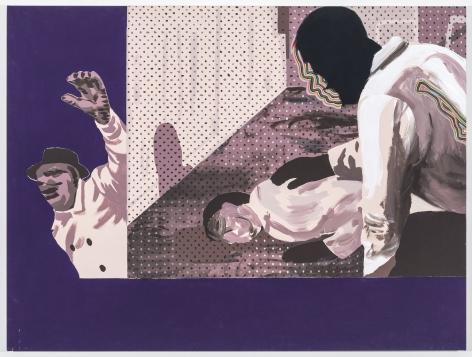 Gary Panter, Hand of Life, 2015