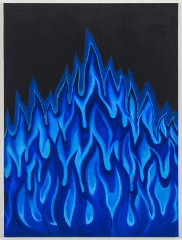 AislingHamrogue The Pyer and the Onyx (Blue Flame), 2021