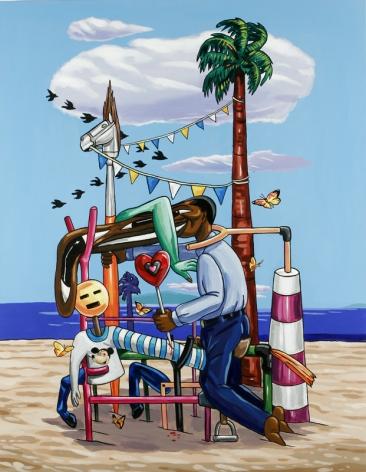 LAMAR PETERSON, The Painter,2005