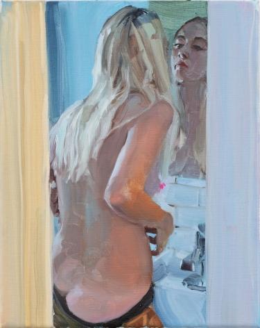 Jenna Gribbon, Small crack, 2021