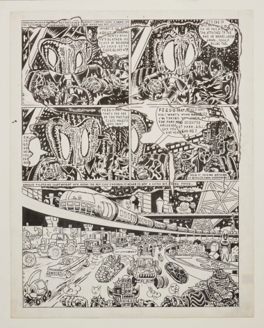 Gary Panter Jimbo's House is Gigantic and Condemned page 8, 1987