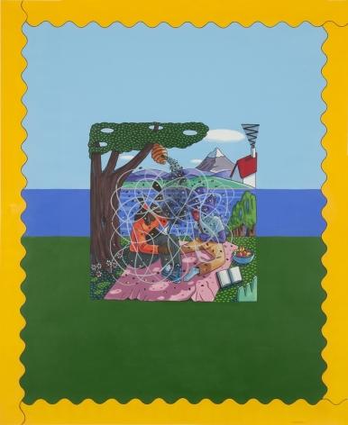 LAMAR PETERSON, Imaginary Flowers,2011