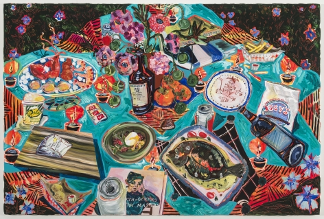 KatePincus-Whitney Feast in the Neon Jungle: Last Picnic in Providence, 2020