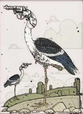 Nicholas Di Genova, Six-Shooter Stork Twins