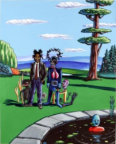 LAMAR PETERSON, Basquiat,2005