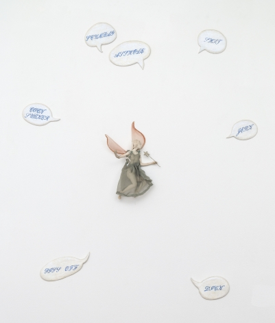 Andrea Bowers, Indignant Fairy, 1993