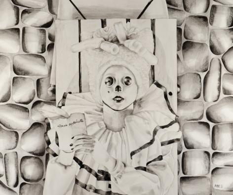 MARY REID KELLEY, Marie Antoinette Saltimbanque,2011