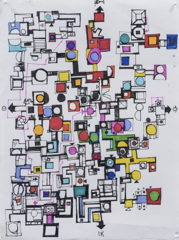 Zak Smith, Schoenberg, 2015