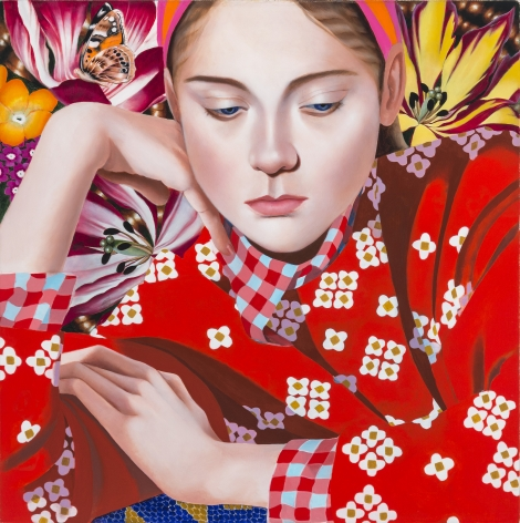 Jocelyn Hobbie Aurora in Red Sweater, 2019