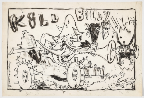 Gary Panter Killbilly, 1986