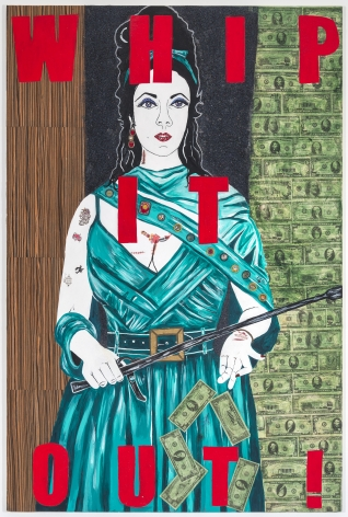 KatheBurkhart Whip it Out: from the Liz Taylor Series (Reflections in a Golden Eye), 2012-2013