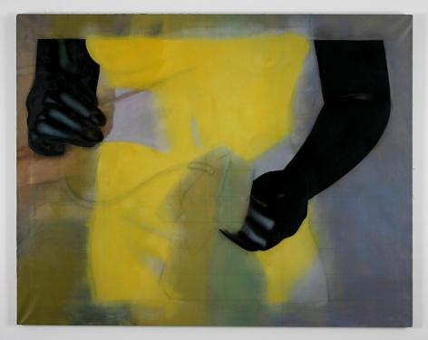 ROBERT OVERBY, Black Hands,1977