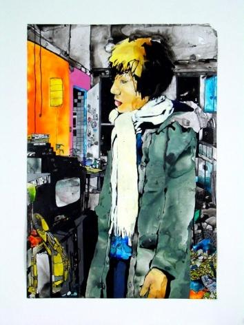 Zak Smith, Jee Young Sim, Winter, 2003