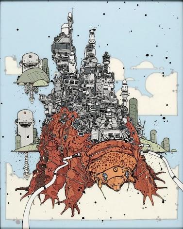 Nicholas Di Genova, The Floating City of Waterdog