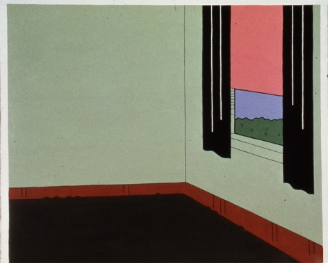 JOHN WESLEY, B's Window, 1973-1974