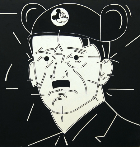 STEVE GIANAKOS, Untitled (Hitler With Ears), 1980