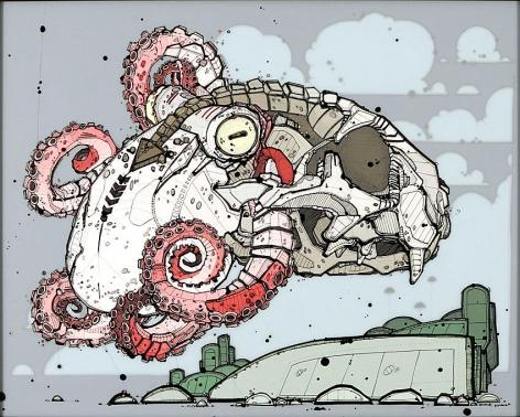 Nicholas Di Genova, Cuttlefish Floater