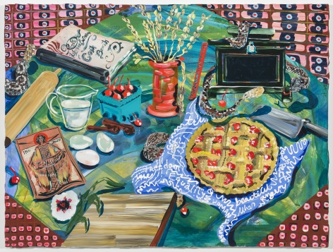 Kate Pincus-Whintey, Feast in the Neon Jungle: Let Them Eat Pie, 2020