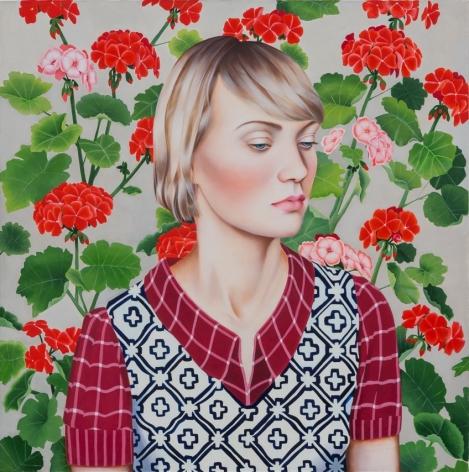 Jocelyn Hobbie Ruby Lake (Geraniums), 2017