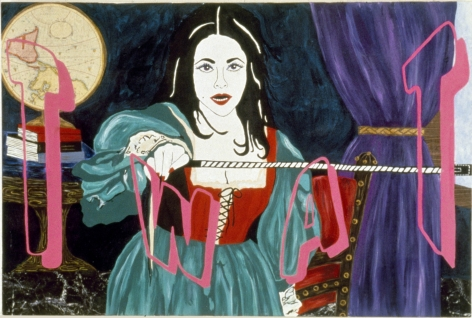 Kathe Burkhart, Twat: from the Liz Taylor Series (Taming of the Shrew), 1995