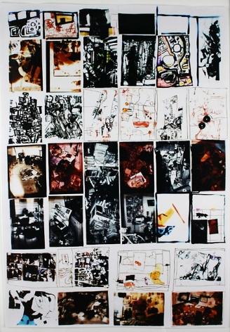 Zak Smith, Stacks, 2002