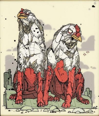 Nicholas Di Genova, Siamese Chicken-Hound