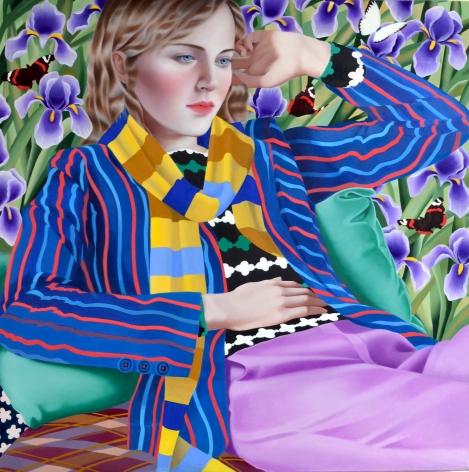 Jocelyn Hobbie, Irises, 2018