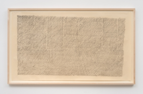 ROBERT OVERBY, N.Y. B&W Rubbings: Second B&W Rubbing, 1972