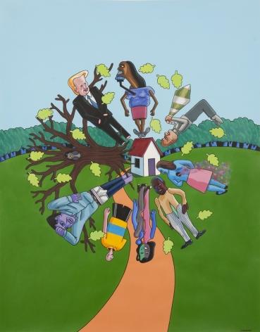 LAMAR PETERSON, The Circumscribers,2011