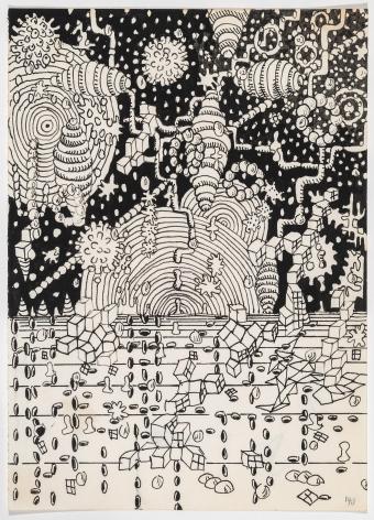 GaryPanter Psychedelic Landscape, 1990