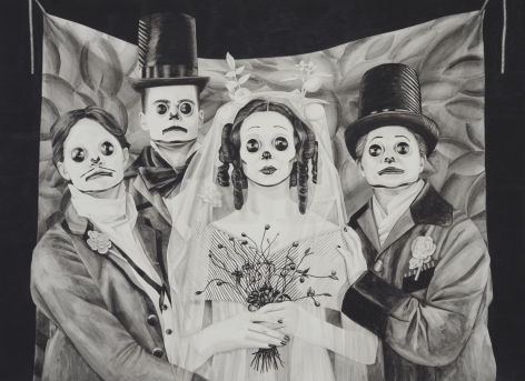 MARY REID KELLEY, Polyamorous Bride, 2012