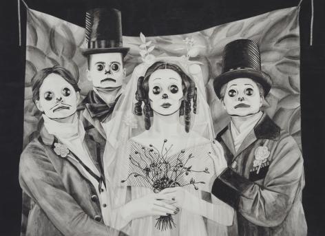 MARY REID KELLEY, Polyamorous Bride,2012