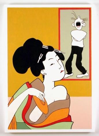 John Wesley, Utamaro Drinking, Bumstead Mad, 2003