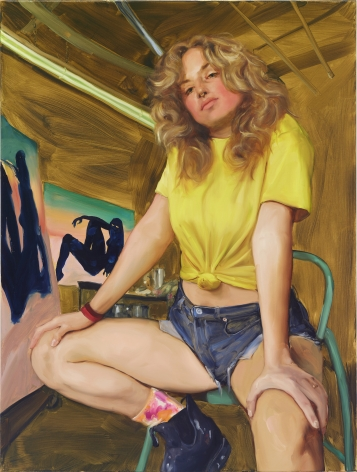 JennaGribbon The Artist Eroticized (Robin), 2020