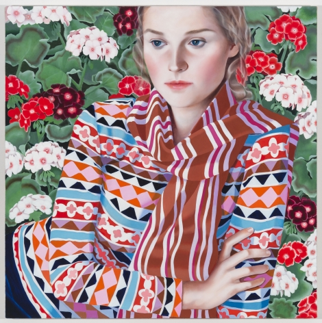 Jocelyn Hobbie, Fair Isle, Geranium, 2017