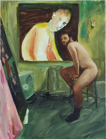 JennaGribbon The Artist Eroticized (Anthony), 2020