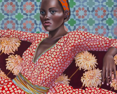Jocelyn Hobbie Chrysanthemums and Stars,2017