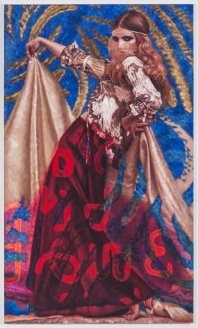 Alison Blickle, Sigil Skirt, 2020