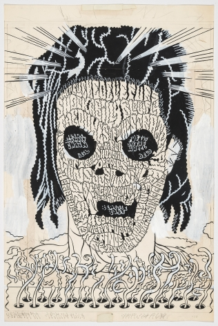 Gary Panter Psychedelic Screamer, 1995