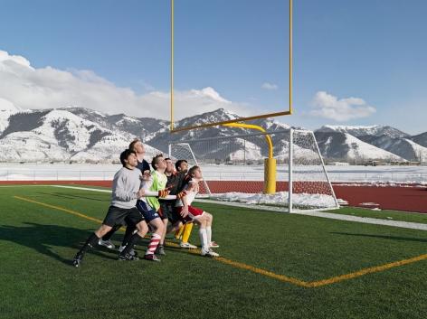 Lucas Foglia, Soccer Practice, Star Valley Braves, Afton, Wyoming, 2010