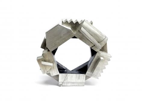 Giovanni Sicuro, bracelet, 2019, silver, niello