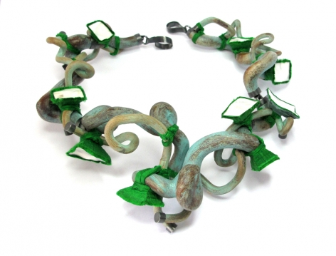 Terhi Tolvanen, jewelry, reinventing nature, cement, quartz, Finnish