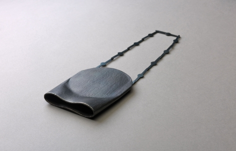 Katrin Feulner, necklace, steel