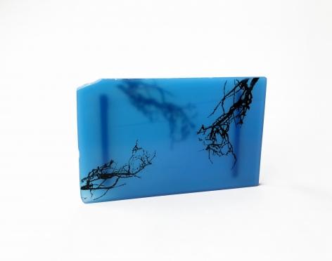 Alejandra Solar, brooch, stone, print