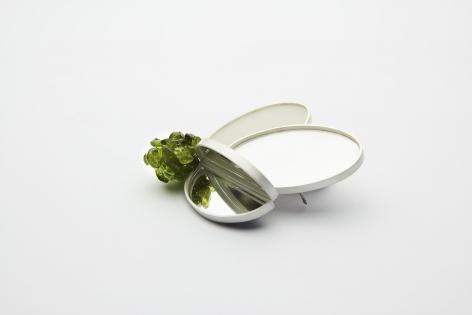 Katja Prins, Dutch jewelry, resin, silver